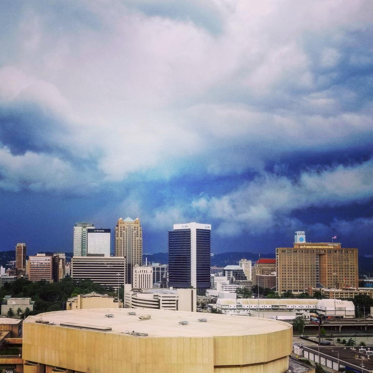 When Storm CloudsGather